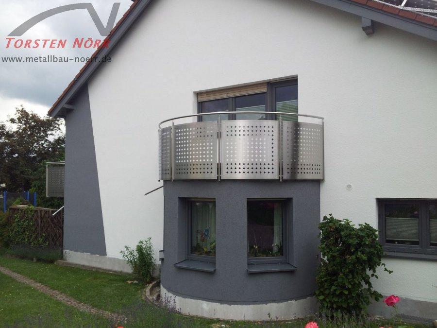 halbrunder balkon torsten n rr schlosserei metallbau. Black Bedroom Furniture Sets. Home Design Ideas